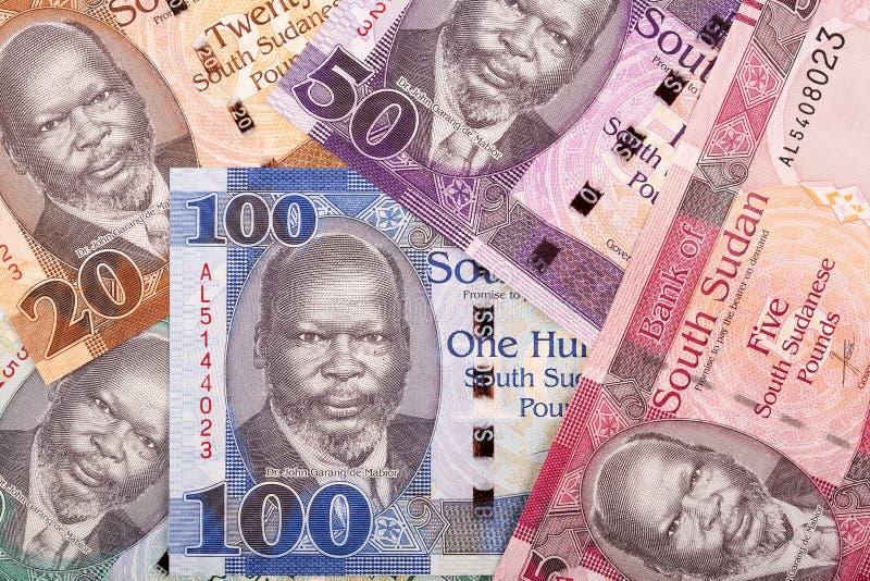 Νότια σουδανέζικα χρήματα, ένα υπόβαθρο στοκ φωτογραφίες με δικαίωμα ελεύθερης χρήσης