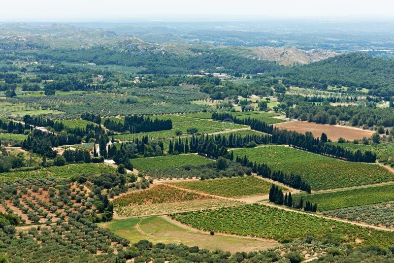 νότια όψη της Γαλλίας Προβηγκία στοκ φωτογραφίες