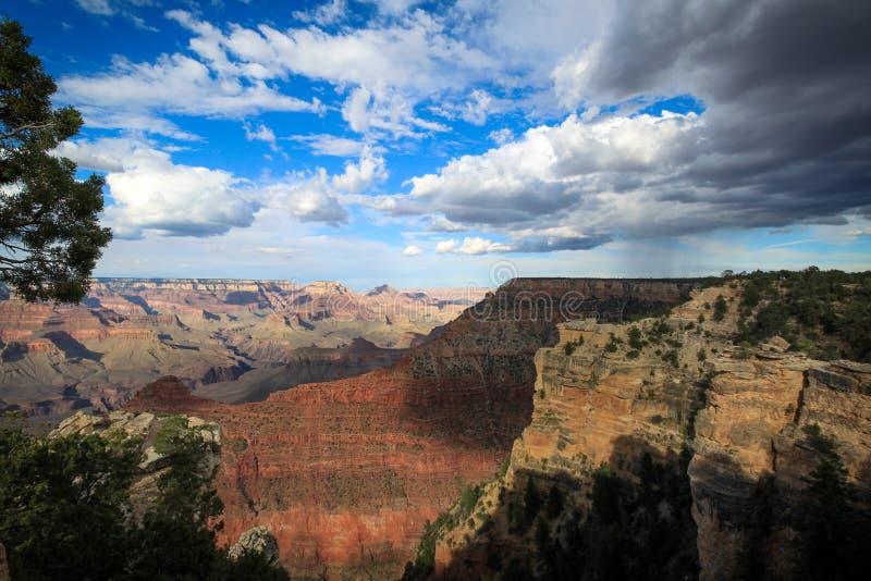Νότιου πλαισίου - μεγάλο εθνικό πάρκο φαραγγιών - Αριζόνα στοκ φωτογραφία με δικαίωμα ελεύθερης χρήσης