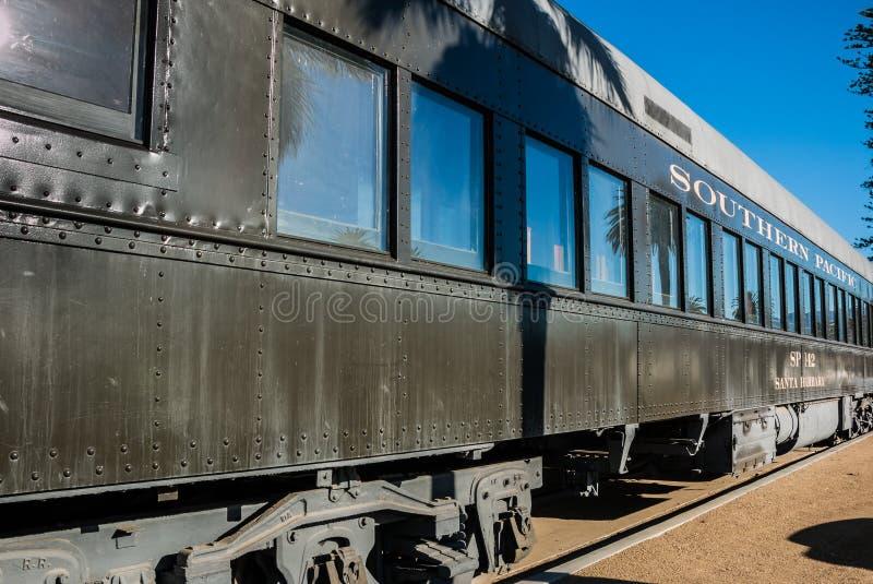 Νότιο ειρηνικό αυτοκίνητο Santa Barbara τραίνων στοκ εικόνα