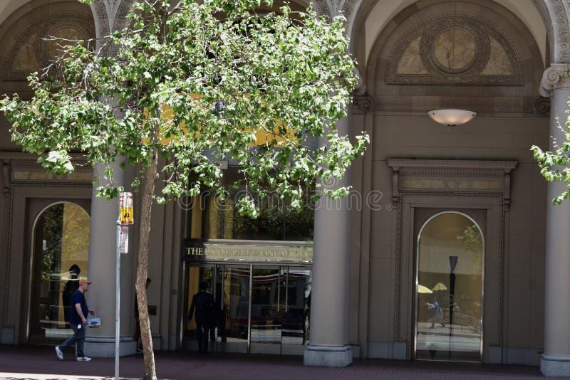 Νότιο ειρηνικό γραφείο του Σαν Φρανσίσκο ορόσημων σιδηροδρόμου ` s, 2 στοκ φωτογραφία
