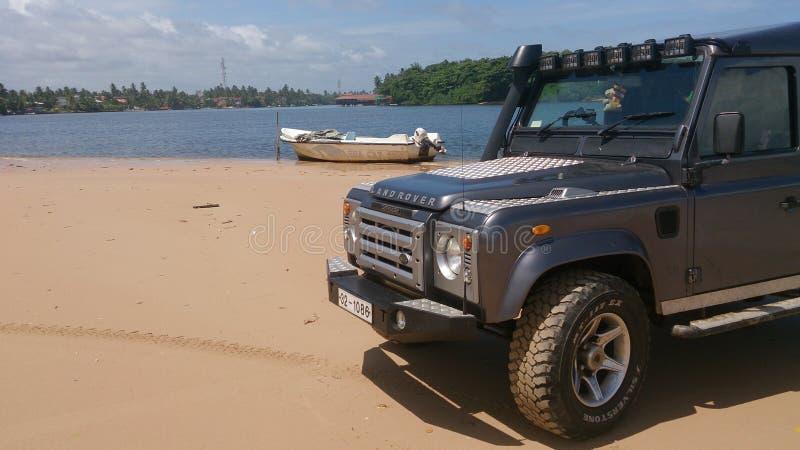 Νότιο μέρος διακοπών της Σρι Λάνκα στοκ φωτογραφίες