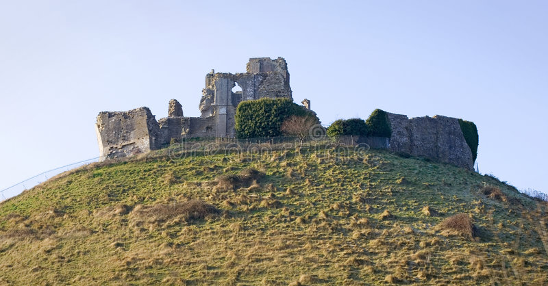 νότιο swanage του Dorset Αγγλία κάστρ&o στοκ εικόνες με δικαίωμα ελεύθερης χρήσης