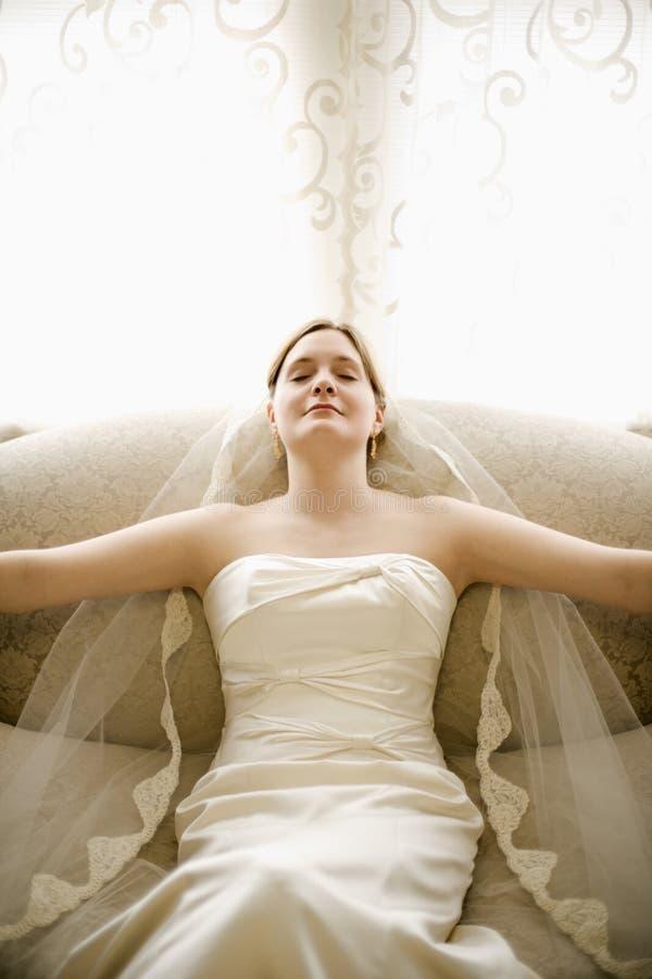 νύφη ήρεμη στοκ φωτογραφία με δικαίωμα ελεύθερης χρήσης