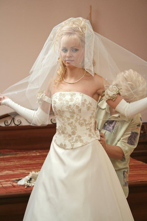 νύφη αρκετά στοκ εικόνα