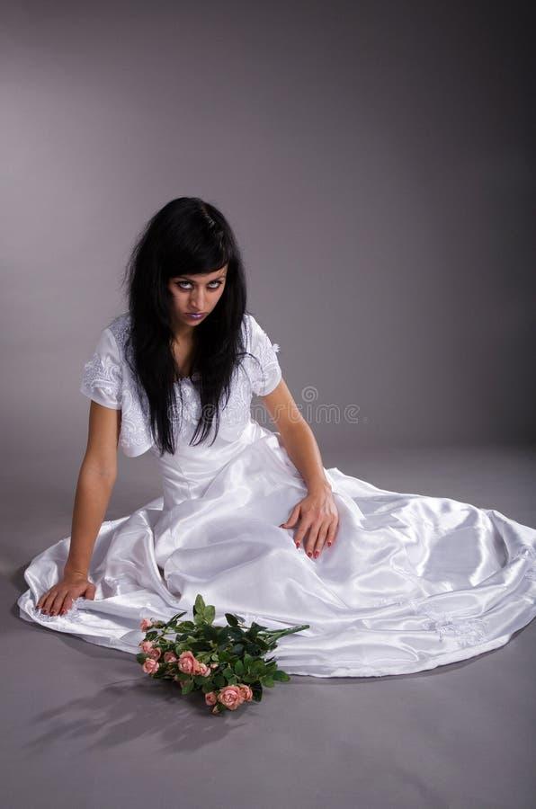 νύφη δυστυχισμένη στοκ φωτογραφίες με δικαίωμα ελεύθερης χρήσης