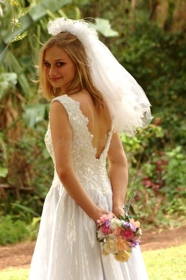 νύφη προκλητική στοκ φωτογραφία