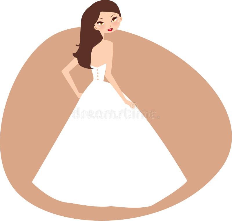 νύφη διανυσματική απεικόνιση