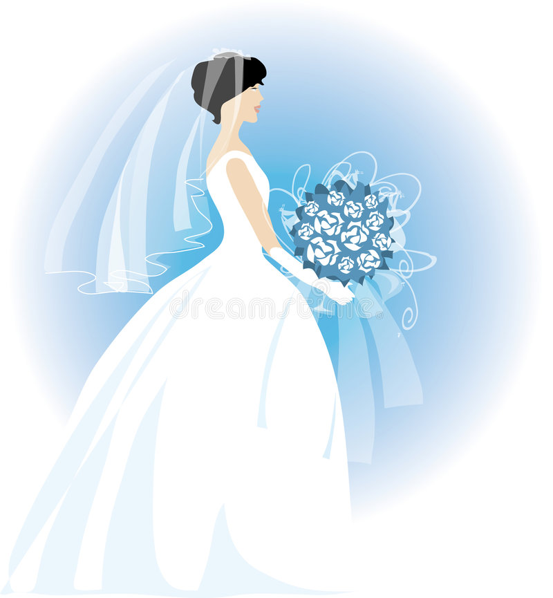 νύφη ελεύθερη απεικόνιση δικαιώματος