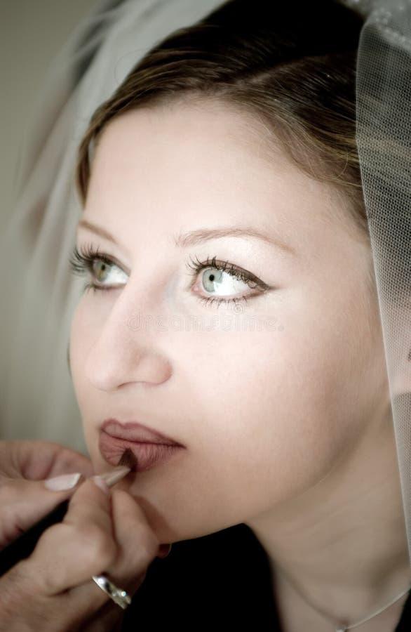 Download νύφη στοκ εικόνα. εικόνα από κορίτσι, ευτυχής, γυναίκα, τρίχωμα - 61905