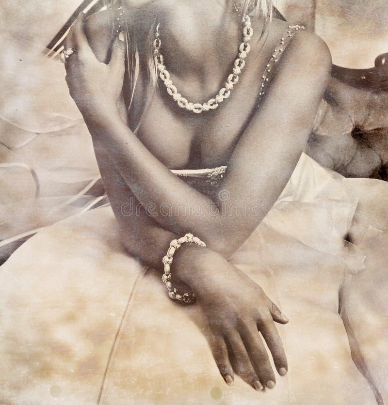 Νύφη Grunge στοκ φωτογραφία με δικαίωμα ελεύθερης χρήσης