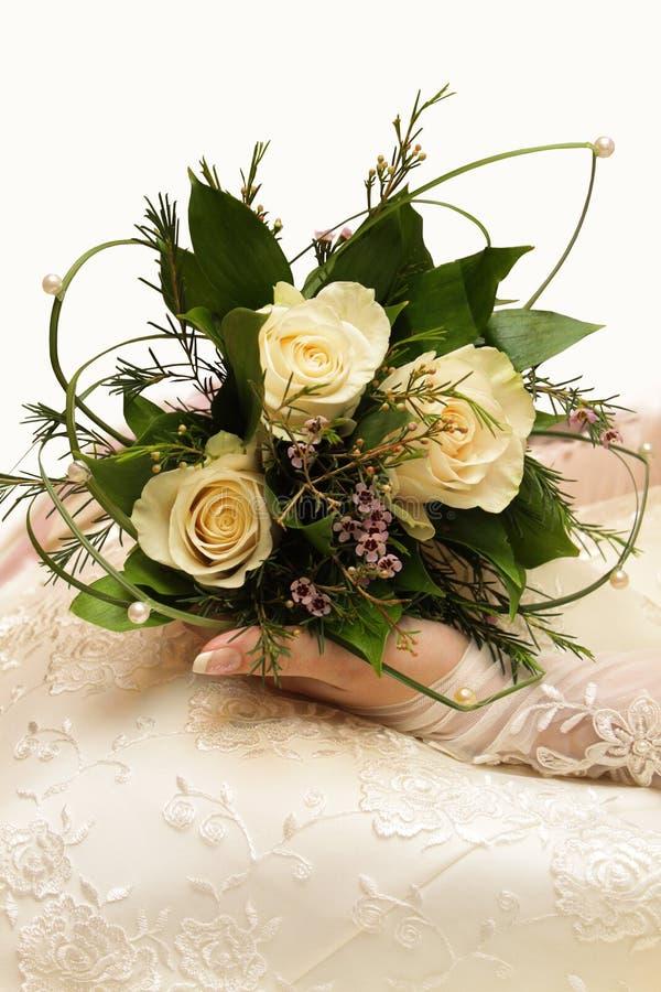 νύφη s ανθοδεσμών στοκ εικόνες με δικαίωμα ελεύθερης χρήσης