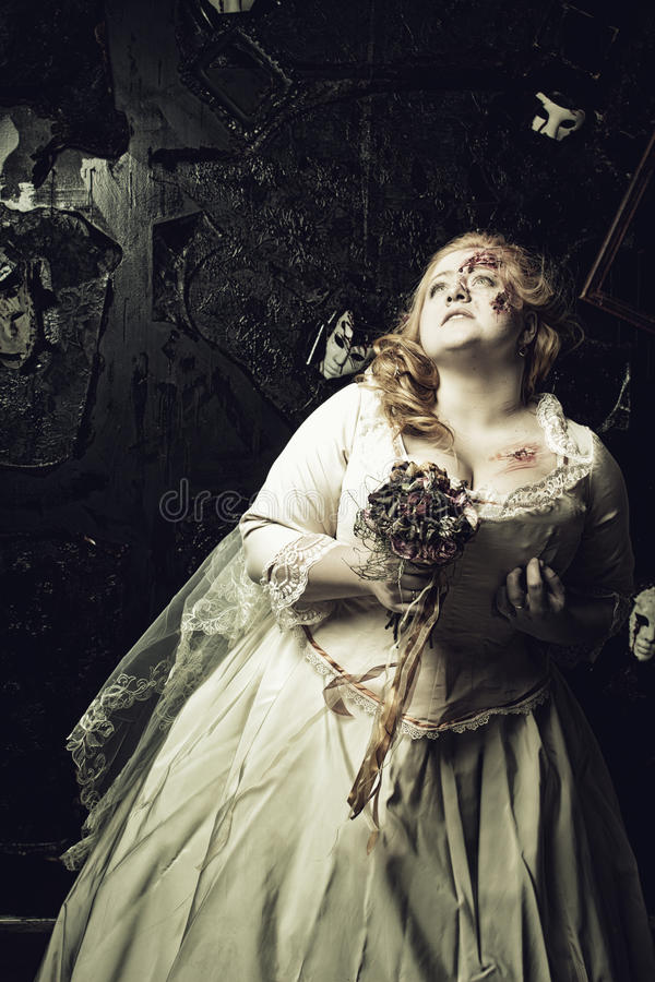 Νύφη Undead στοκ εικόνα με δικαίωμα ελεύθερης χρήσης