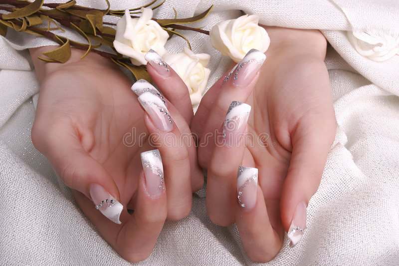 νύχια στοκ φωτογραφίες