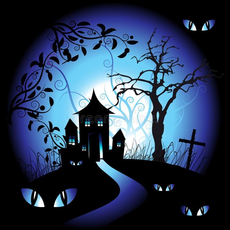 νύχτα αποκριών ελεύθερη απεικόνιση δικαιώματος
