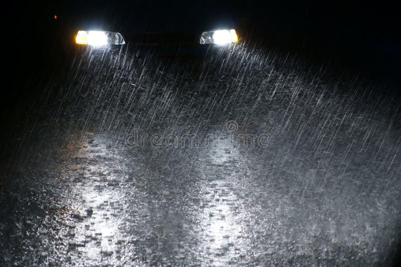 νύχτα βροχερή στοκ εικόνα με δικαίωμα ελεύθερης χρήσης