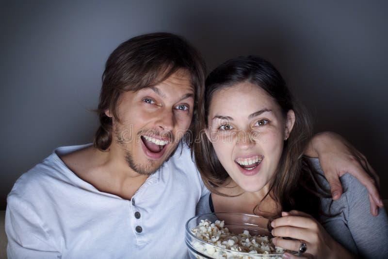Νύχτα κινηματογράφων στοκ φωτογραφία με δικαίωμα ελεύθερης χρήσης