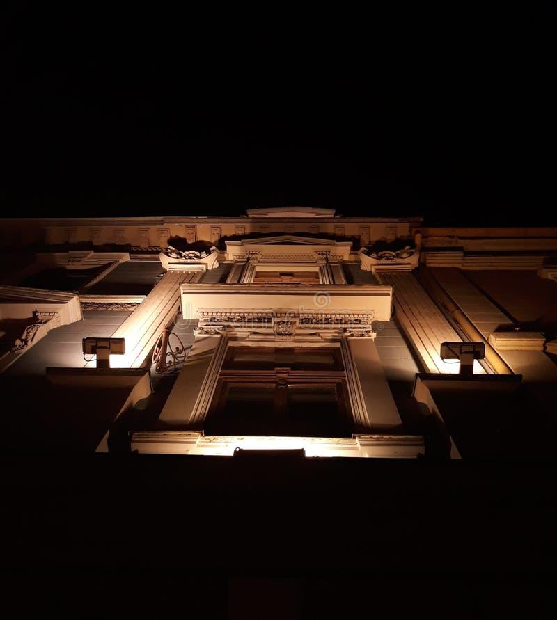 Νύχτα μουσείων στοκ φωτογραφία με δικαίωμα ελεύθερης χρήσης