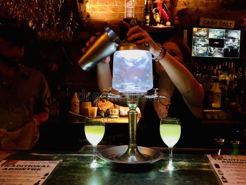 Νύχτα Νέα Ορλεάνη στοκ εικόνα με δικαίωμα ελεύθερης χρήσης