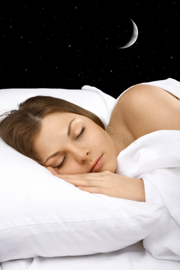 νύχτα ονείρων στοκ φωτογραφία με δικαίωμα ελεύθερης χρήσης