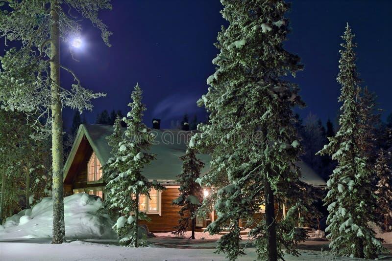 Νύχτα πανσελήνου στοκ φωτογραφία με δικαίωμα ελεύθερης χρήσης