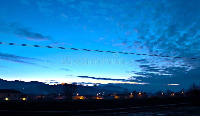 νύχτα πτώσεων στοκ φωτογραφία με δικαίωμα ελεύθερης χρήσης