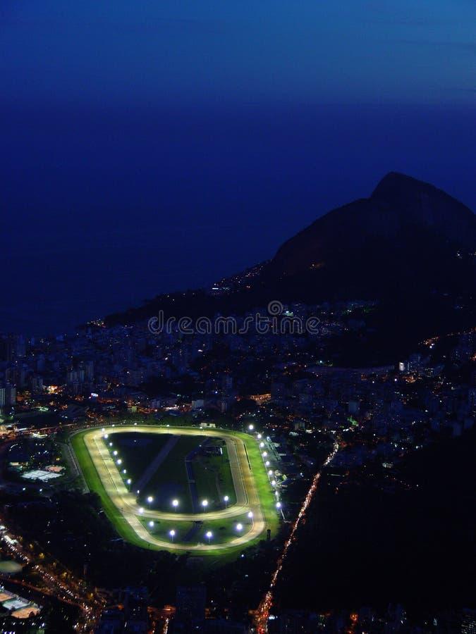 Download νύχτα Ρίο de janeiro στοκ εικόνες. εικόνα από jockey, τύρφη - 390160
