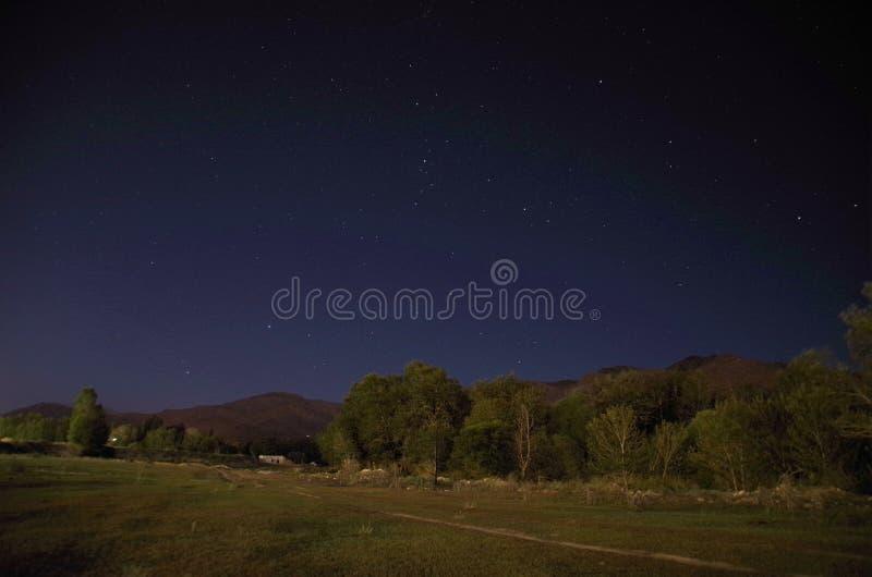 νύχτα σιωπηλή στοκ φωτογραφίες