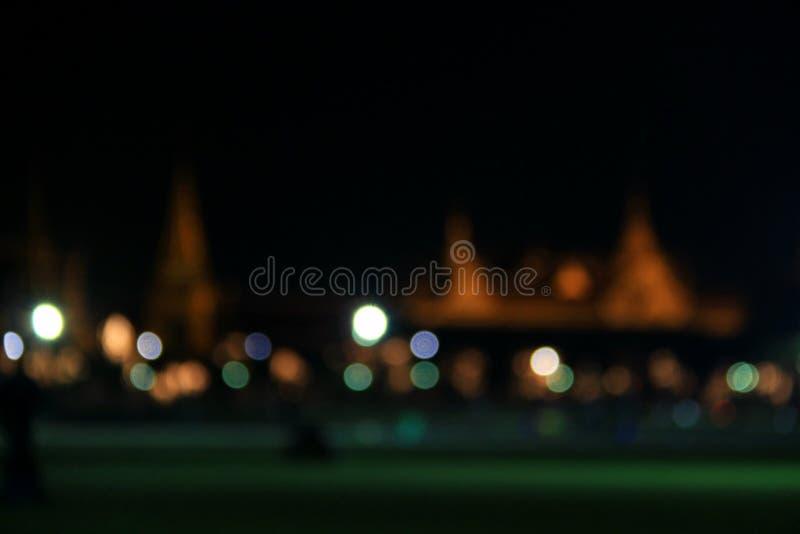 Νύχτα στη Μπανγκόκ στοκ φωτογραφίες