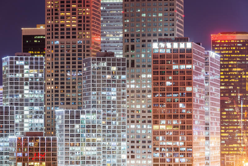 Νύχτα στο Πεκίνο στοκ εικόνα με δικαίωμα ελεύθερης χρήσης