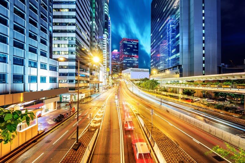 Νύχτα της Κίνας Shenzhen στοκ εικόνα με δικαίωμα ελεύθερης χρήσης