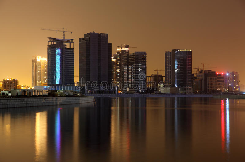νύχτα του επιχειρησιακ&omicro στοκ εικόνες