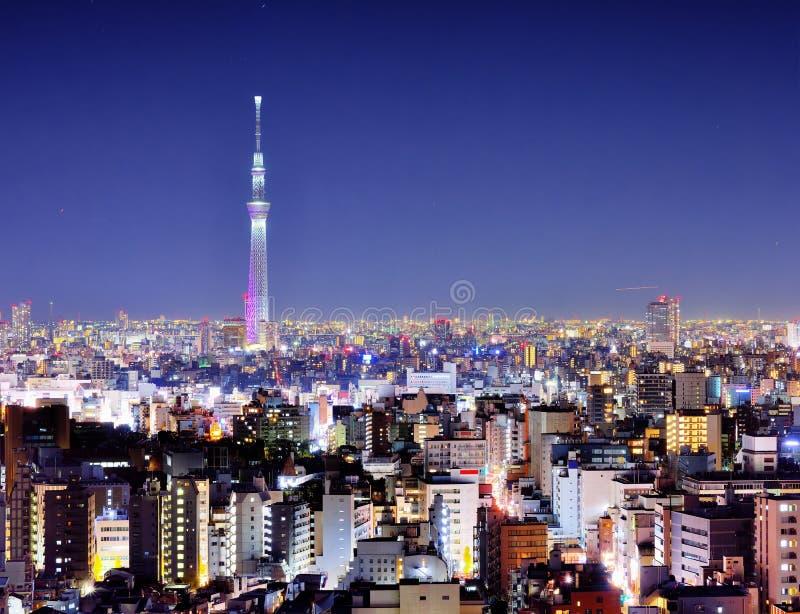 Νύχτα του Τόκιο στοκ εικόνες με δικαίωμα ελεύθερης χρήσης