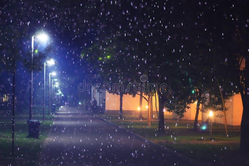 Νύχτα Χριστουγέννων που θολώνεται στοκ εικόνα με δικαίωμα ελεύθερης χρήσης