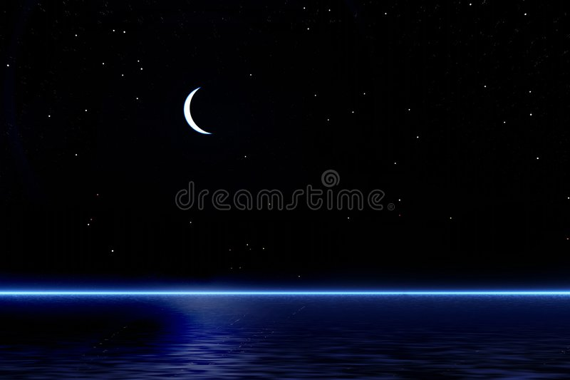 νύχτα ελεύθερη απεικόνιση δικαιώματος