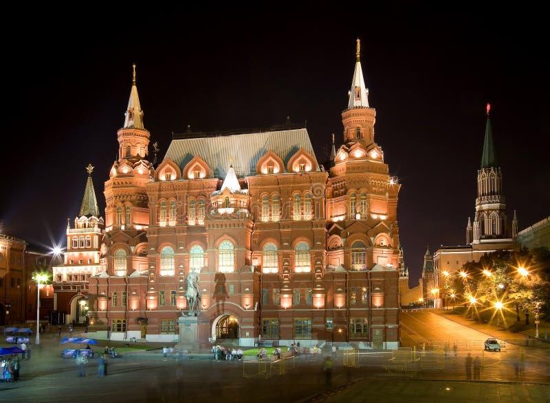 νύχτα 3 Μόσχα στοκ εικόνες με δικαίωμα ελεύθερης χρήσης