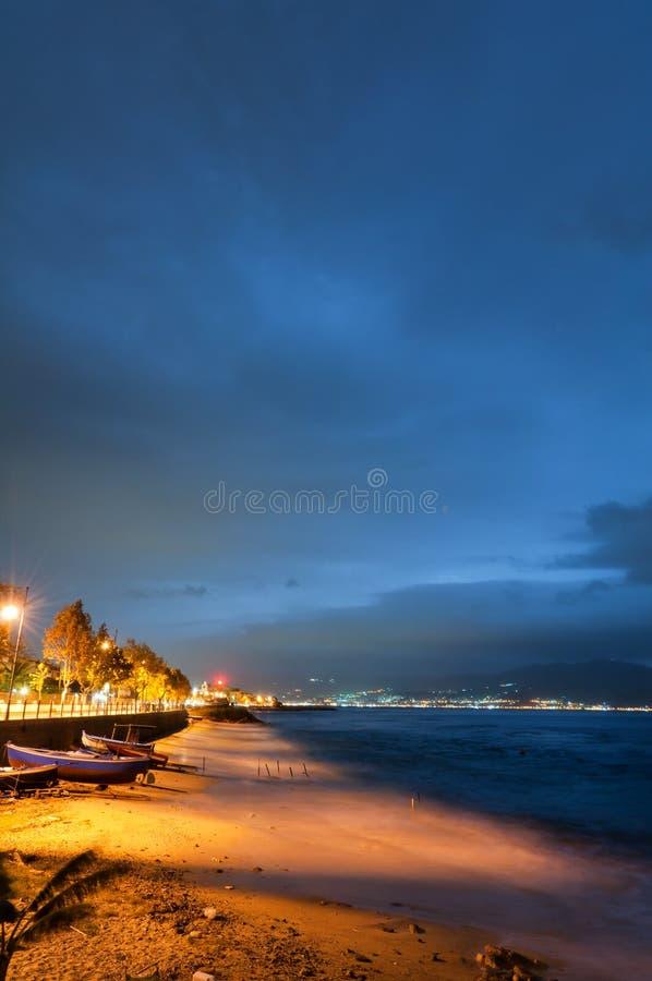 νύχτα cannitello στοκ φωτογραφία με δικαίωμα ελεύθερης χρήσης
