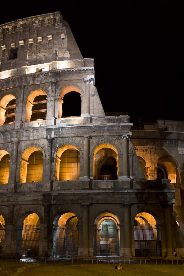 νύχτα coliseum στοκ εικόνα με δικαίωμα ελεύθερης χρήσης