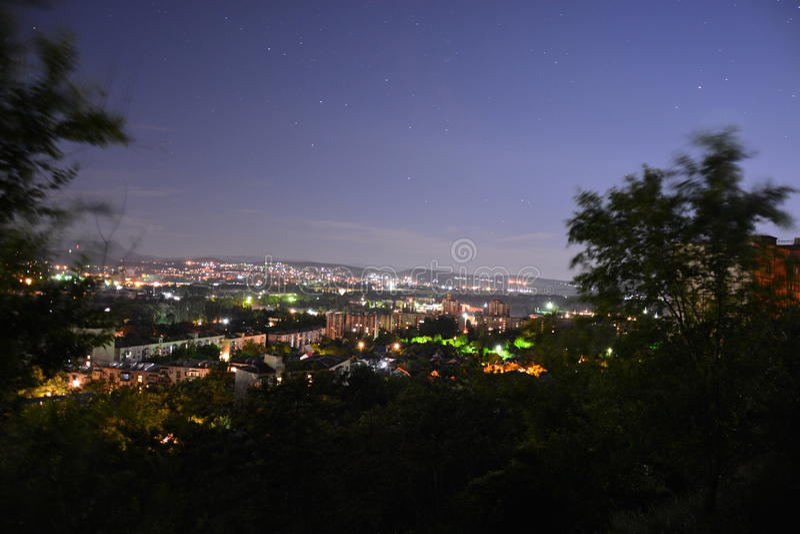 Νύχτα Simferopol 003 στοκ φωτογραφία