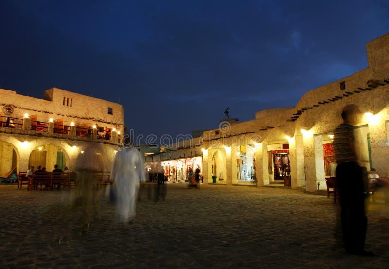 νύχτα souq στοκ φωτογραφίες