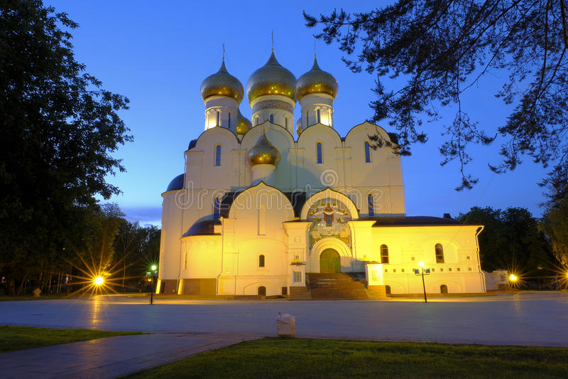 Νύχτα Yaroslavl στοκ φωτογραφίες με δικαίωμα ελεύθερης χρήσης