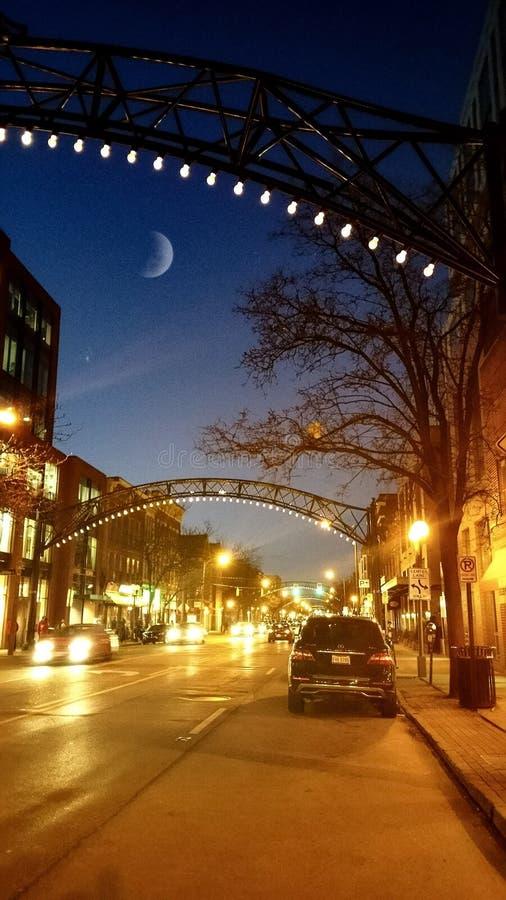 Νύχτες του Columbus στοκ εικόνες