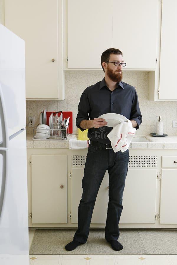ξήρανση πιάτων στοκ φωτογραφία