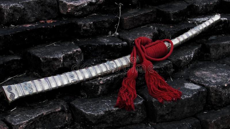 Ξίφος χαλκού Lanna στοκ φωτογραφίες με δικαίωμα ελεύθερης χρήσης