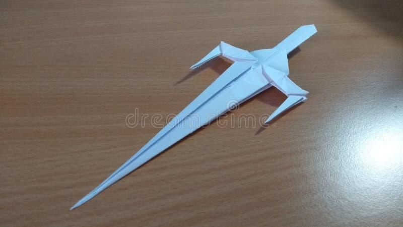 Ξίφος Origami στοκ εικόνες με δικαίωμα ελεύθερης χρήσης