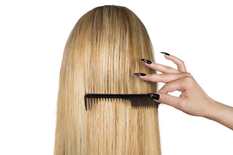 ξανθά μαλλιά στοκ φωτογραφία με δικαίωμα ελεύθερης χρήσης