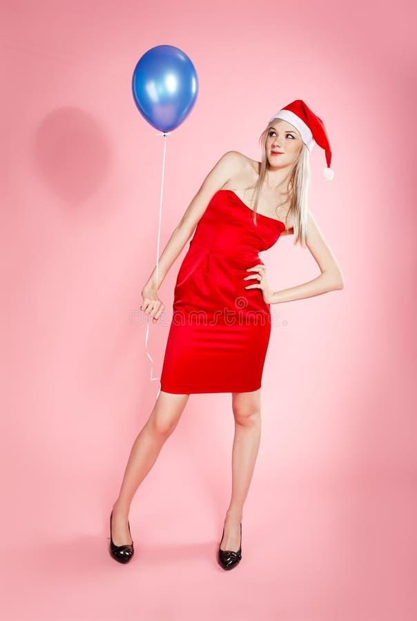 Download ξανθά Χριστούγεννα κοριτ&sig Στοκ Εικόνα - εικόνα από πολύ, μόδα: 17055177