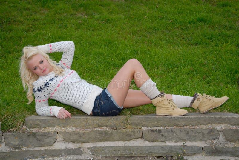 Download ξανθές προκλητικές νεολ&a στοκ εικόνα. εικόνα από θηλυκό - 17051137