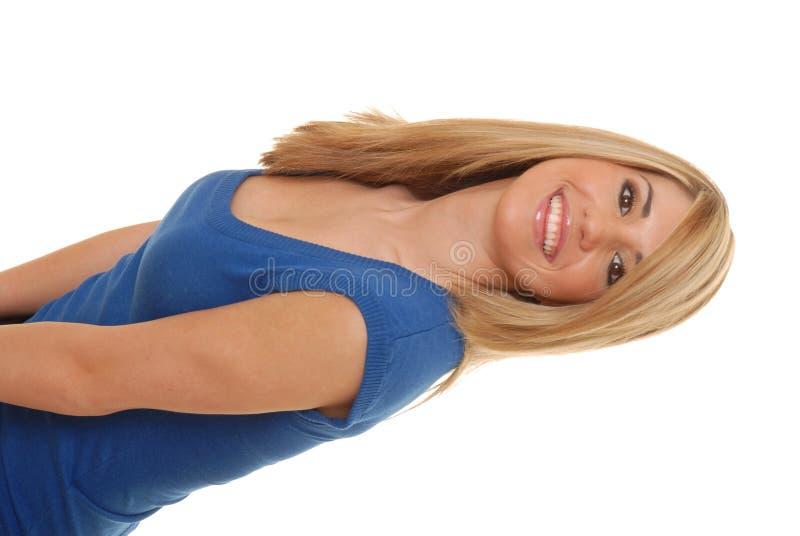 ξανθό κορίτσι 5 καλό στοκ φωτογραφία με δικαίωμα ελεύθερης χρήσης