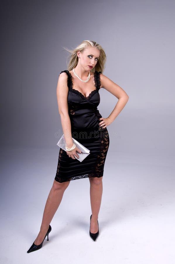 ξανθό μοντέλο μόδας στοκ εικόνα με δικαίωμα ελεύθερης χρήσης